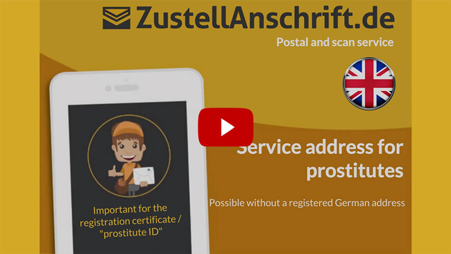 Explanatory video Delivery Address for SexWorker, ProstSchG