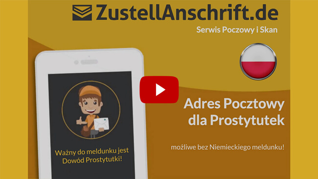 Wyjaśniający wideo Adres dostawy sexworker, ProstSchG