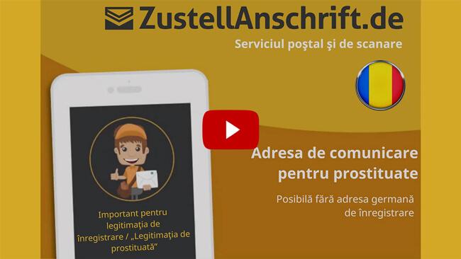 Explicativ video Adresa de livrare pentru SexWorker, ProstSchG