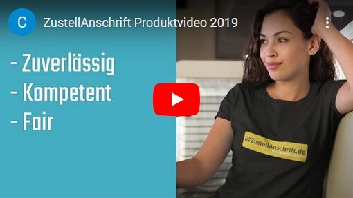Produktvideo ZustellAnschrift für Sexworker 2019