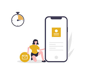 Die ZustellAnschrift ist kurzfristig und schnell verfügbar